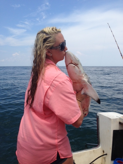 Galveston Fishing Charters - Kiss the Fish!